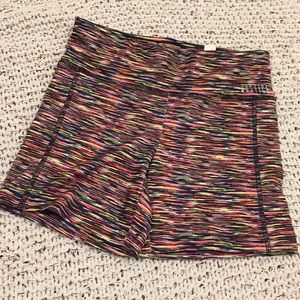 NWT - Justice Colorful Workout Shorts